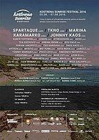 Party Flyer Kostrena Sunrise Festival 5 Aug '16, 18:00