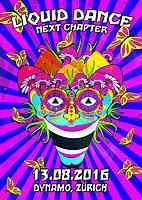 Party Flyer ॐ Liquid Dance ॐ Next Chapter ॐ 13 Aug '16, 22:00