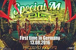 Party Flyer ProggyD`s XXL 2 Brainfuck ૐ Prog Experience ૐ Special M & Kronfeld 13 Aug '16, 23:00