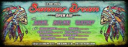 Party Flyer Summer Dream Open Air Segelflugplatz 13 Aug '16, 18:00