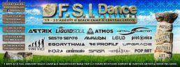 Party Flyer F.S.I DANCE FESTIVAL (19-23 August), BEACH Camp, Central GREECE. 19 Aug '16, 19:00