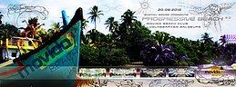 Party Flyer SYNTAX SENSE PROGRESSIVE BEACH 6.0 WITH SYNTHETIK CHAOS (4FREE!) 20 Aug '16, 12:00