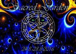 Party Flyer Sacred Garden 24 Aug '16, 15:00