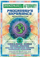 Party Flyer Progressive Experience (Afterparty Grenzenlos) 27 Aug '16, 23:00