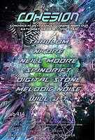 Party Flyer Cohesion psychedelic trance adventure!!! 3 Sep '16, 23:00