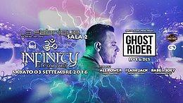 Party Flyer ॐInfinityॐ pres Ghost Rider (Sala 2) - 03.09.2k16 3 Sep '16, 23:30