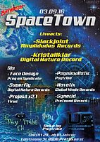 Party Flyer Spacetown 3 Sep '16, 22:00