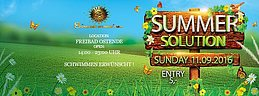 Party Flyer Sommer Sonne Goa pres. Summer Solution Open Air 11 Sep '16, 14:00