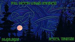 Party Flyer Full Moon Penumbral Equinox 16 Sep '16, 20:00