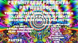 Party Flyer PSY MUSCHROOMS part.2 23 Sep '16, 23:00
