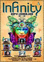 Party Flyer INFINITY - HAMBURG 24 Sep '16, 23:00