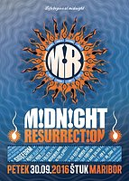Party Flyer Midnight Resurrection with Sideform 30 Sep '16, 22:00