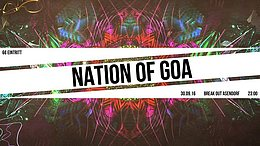 Party Flyer Nation of Goa 30 Sep '16, 23:00