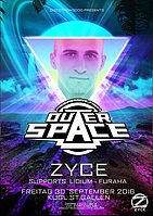 Party Flyer ZYCE @ Outerspace St.Gallen 30 Sep '16, 23:00