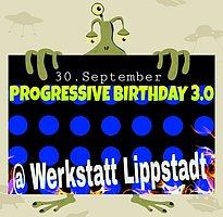 Party Flyer PROGRESSIVE BIRTHDAY 3.0 + AFTERHOUR 30 Sep '16, 21:00