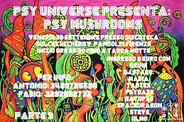 Party Flyer PSY MUSHROOMS parte 3 30 Sep '16, 22:00