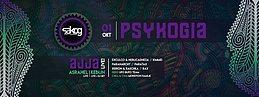 Party Flyer Psykogia w/ Ajja live 1 Oct '16, 22:00