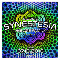 Party Flyer 8 Jahre Synestesia 7 Oct '16, 22:00