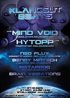 Party Flyer KlangGut Beats ★Mind Void★Hytopp★ ♫ LIVE ♫ 7 Oct '16, 23:00