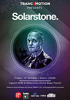 Party Flyer Tranc3motion pres. Solarstone - Fabrica 126 7 Oct '16, 23:00