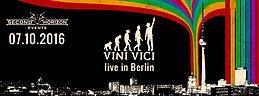 Party Flyer Vini Vici und Sesto Sento Live in Berlin! 7 Oct '16, 23:00