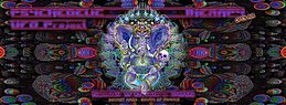 Party Flyer PSYCHEDELIC THERAPY - Ufo Project - Open Air 8 Oct '16, 20:30