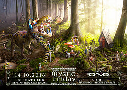 Party Flyer The Mystic Friday meets IONO Music 14 Oct '16, 23:00