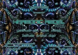 Party Flyer Hypnodelix w/Harmonic Rebel 15 Oct '16, 23:00