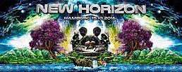 Party Flyer New Horizon 15 Oct '16, 22:00