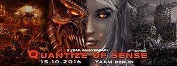 Party Flyer Quantize of Sense - 4th Edition 15 Oct '16, 23:00