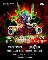 Party Flyer ॐ MEXICO FUTUREPROG EXPERIENCE ॐ Mandragora Live 22 Oct '16, 23:00