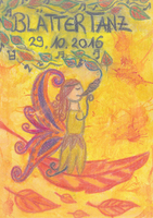 Party Flyer Blättertanz 4 29 Oct '16, 21:00