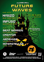 Party Flyer Future Waves - Halloween Special 29 Oct '16, 23:00