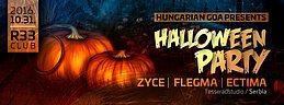 Party Flyer Halloween party (Zyce,Flegma,Ectima) 31 Oct '16, 22:00