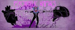 Party Flyer Psychedelic Animals III - Dark Halloween Special 31 Oct '16, 23:00