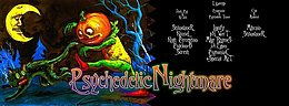 Party Flyer PSYCHEDELIC HALLOWEEN - 3 Floor Goa 31 Oct '16, 22:00