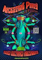 Party Flyer Ancestral Party 5th 3 Nov '16, 22:00
