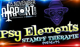 Party Flyer PSY ELEMENTS 5 Nov '16, 21:00