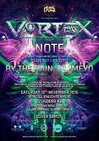 Party Flyer EPIC Tribe pres. VORTEX 12 Nov '16, 21:00