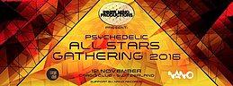 Party Flyer Psychedelic All Stars Gathering 2016 12 Nov '16, 21:00