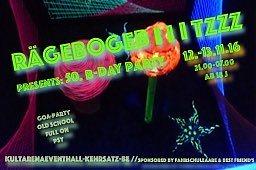 Party Flyer RÄGEBOGEB I I I TZZZ 12 Nov '16, 21:00