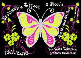 Party Flyer •☆.•*´¨`*•• ƸӜƷ Butterfly Effect ƸӜƷ ••*´¨`*•.☆• 19 Nov '16, 22:00