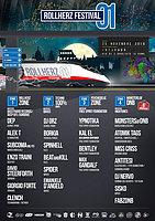 Party Flyer ROLLHERZ• FESTIVAL #01 [4 STAGE] 25 Nov '16, 20:00