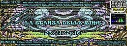 Party Flyer Remember ༺La Stanza Delle Rime ༻ Happy B.day Bibi&Ila 26 Nov '16, 23:00