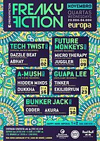 Party Flyer FREAKY FICTION 30 Nov '16, 23:00