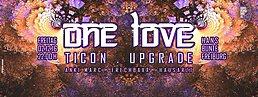 Party Flyer ONE LOVE - TICON & UPGRADE 2 Dec '16, 22:00