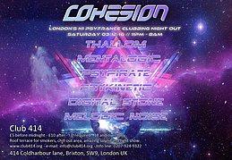 Party Flyer Cohesion PsyTrance Adventure 3 Dec '16, 23:00