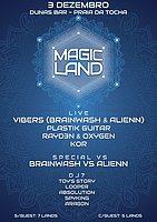 Party Flyer MAGIC LAND 3 Dec '16, 23:00