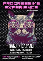 Party Flyer Progressive Experience with Ranji / Dapanji 3 Dec '16, 23:00