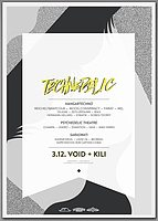 Party Flyer Technedelic 3 Dec '16, 23:00
